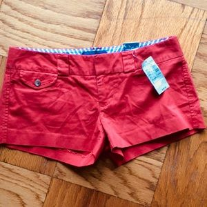 "NWT! AEO Red ""Favorite Short"""